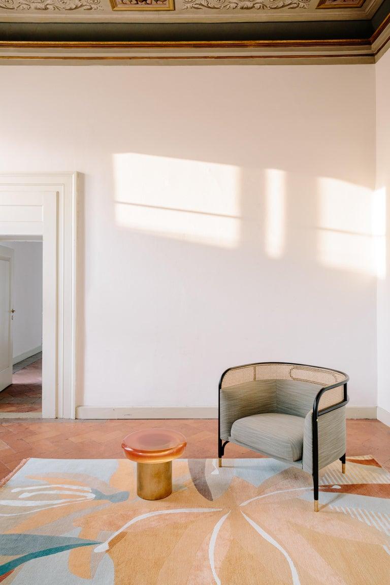 Modern CC-Tapis Rug Belvedere Avino Collection by Cristina Celestino For Sale