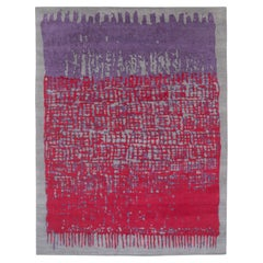 CC-Tapis Sacha Rug Red Violet by Nelly Maye