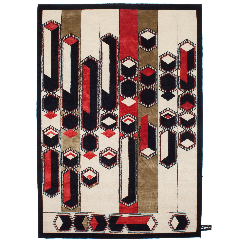 CC-Tapis Spazio Pontaccio Collection Boyaketekka Rug by Federico Pepe