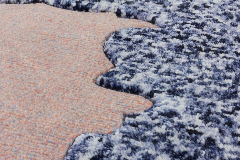 Hand-Knotted CC-Tapis Super Fake Super Rock Rug by Bethan Laura Wood For Sale