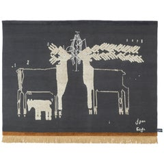 CC-Tapis The Night of a Hunter Two Deers Rug by Rooms Studio