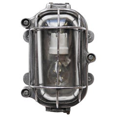 Cccp Fenced Wall Light, Russia, circa 1950