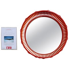 Cease Fire Wall Mounted Mirror, Jaguar Military Airplane Rotor