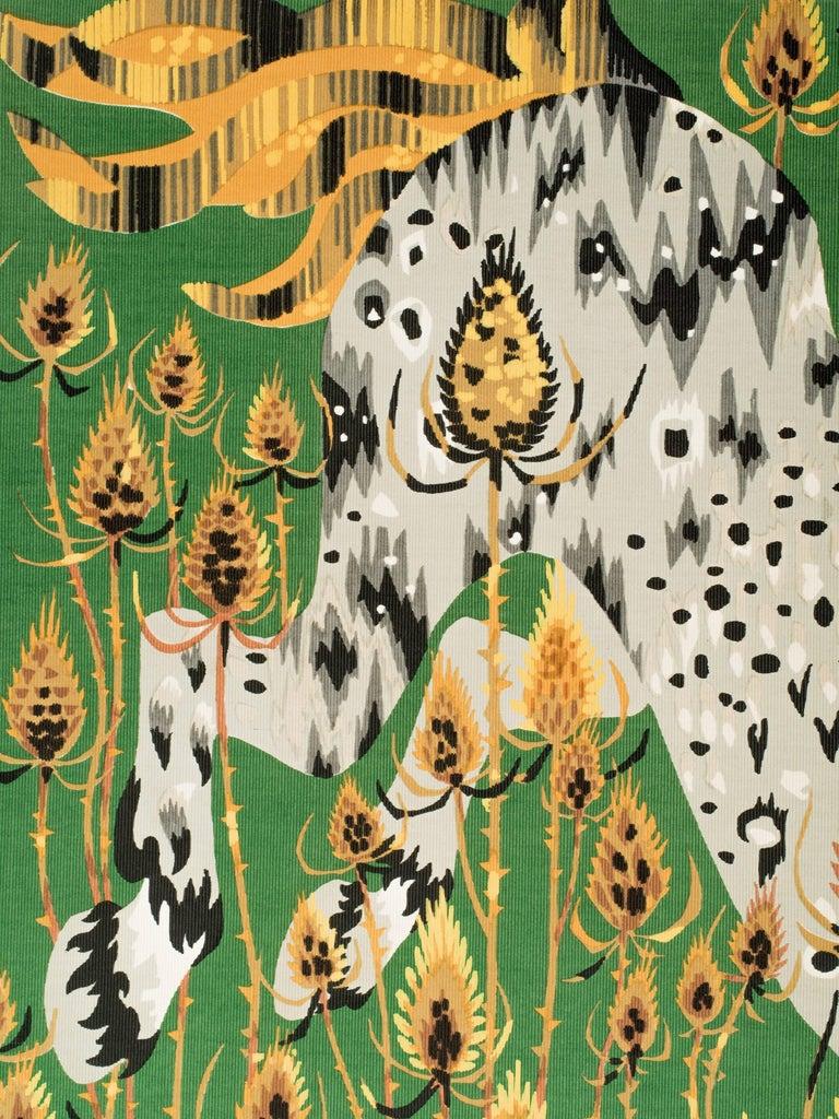 Cotton Cecchini Horse Tapestry For Sale