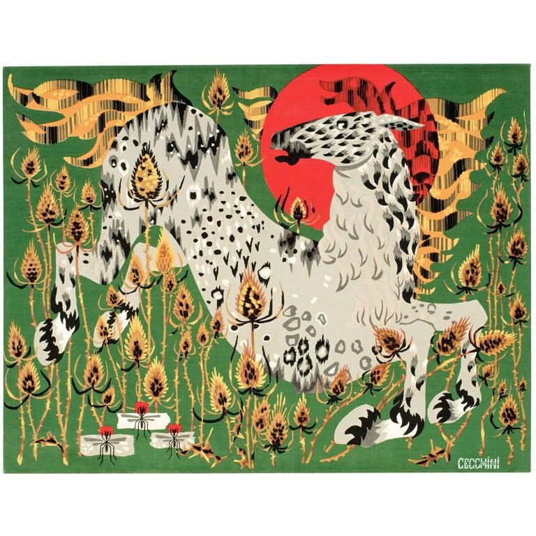 Cecchini Horse Tapestry For Sale