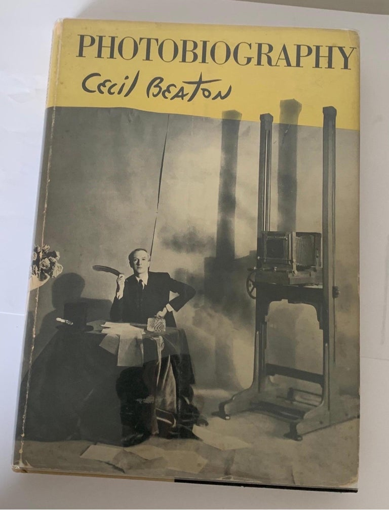 Cecil Beaton photography hardcover book first edition 1951. Includes dust jacket. Dust jacket has been wrapped in Mylar.