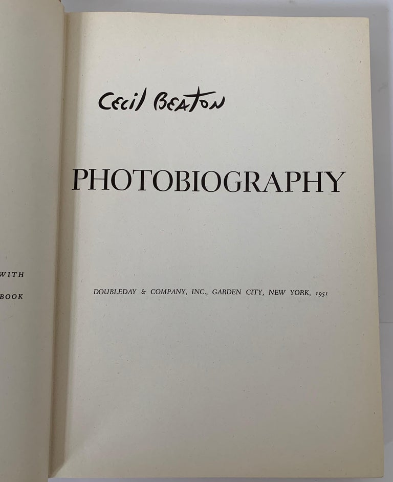 Mid-20th Century Cecil Beaton Photography First Edition For Sale