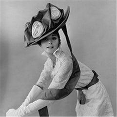 Audrey Hepburn, in costume, My Fair Lady, 1963