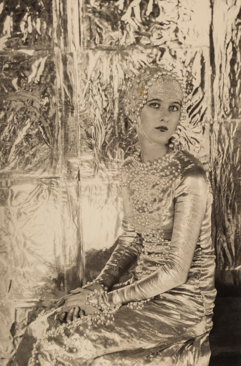 Baba Beaton, 1927 - Cecil Beaton (Portrait Photography) Stamped with Sotheby's Cecil Beaton studio ink stamp on reverse Silver gelatin print, printed later 11 3/4 x 7 1/2 inches Provenance: the collection of Paul F. Walter  Cecil Beaton (1904-1980)