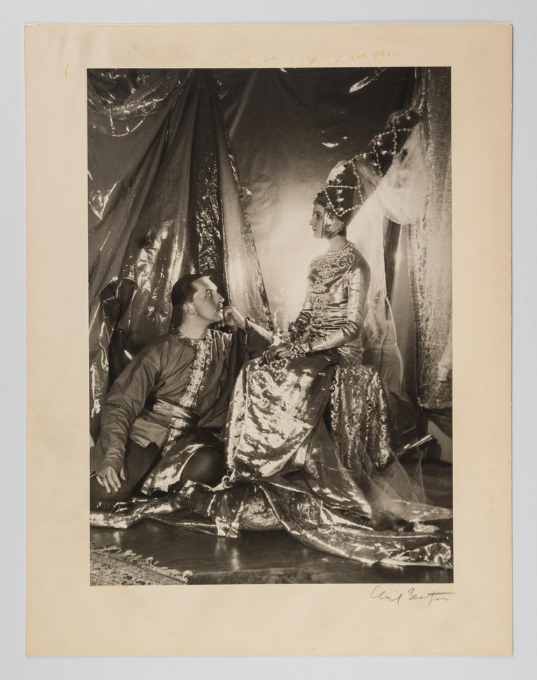 Baba Beaton and Prince Galitzine, 1927 - Cecil Beaton (Portrait Photography) For Sale 1