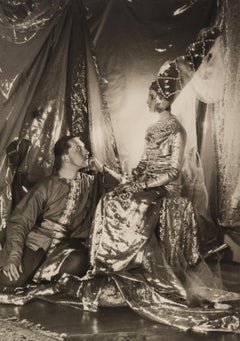Baba Beaton and Prince Galitzine, 1927 - Cecil Beaton (Portrait Photography)
