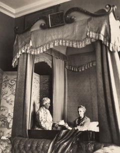 Dame Edith Sitwell at Tea, 1930 - Portrait Photography