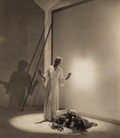 Drape Dress By Mme. Gress, c.1930s - Cecil Beaton (Portrait Photography)