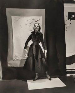 Jean Patchett, for 'Vogue' , 1949 - Cecil Beaton (Fashion Portrait Photography)