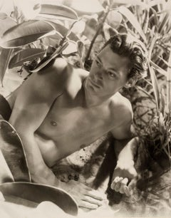 Johnny Weissmuller, 1932  - Cecil Beaton (Fashion Portrait Photography)