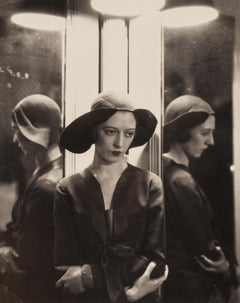 Mariannna Van Rensselar In Charles James Hat, 1930