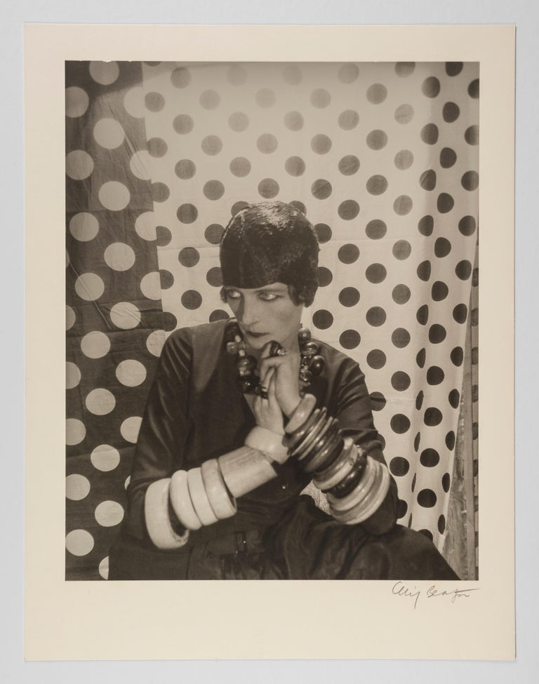 Nancy Cunard, 1929 - Cecil Beaton (Portrait Photography) For Sale 1