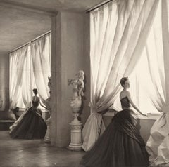 Nancy James Modelling One of her Husband's Creations, 1955  - Cecil Beaton