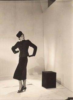 Schiaparelli Model, Paris, c.1936 - Cecil Beaton (Fashion Portrait Photography)