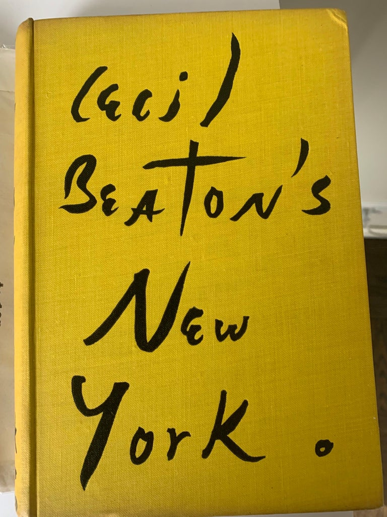Cecil Beaton's New York First Edition In Good Condition For Sale In Stamford, CT