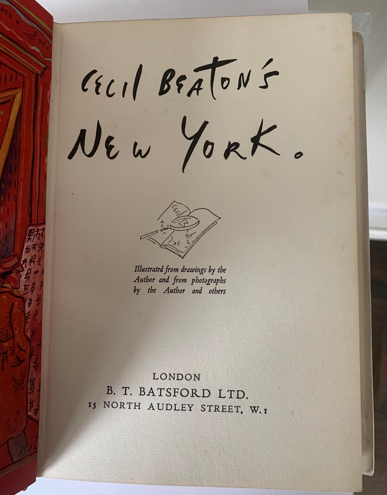 Mid-20th Century Cecil Beaton's New York First Edition For Sale