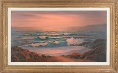 """Golden Sunset"" - Seascape Near Manresa"