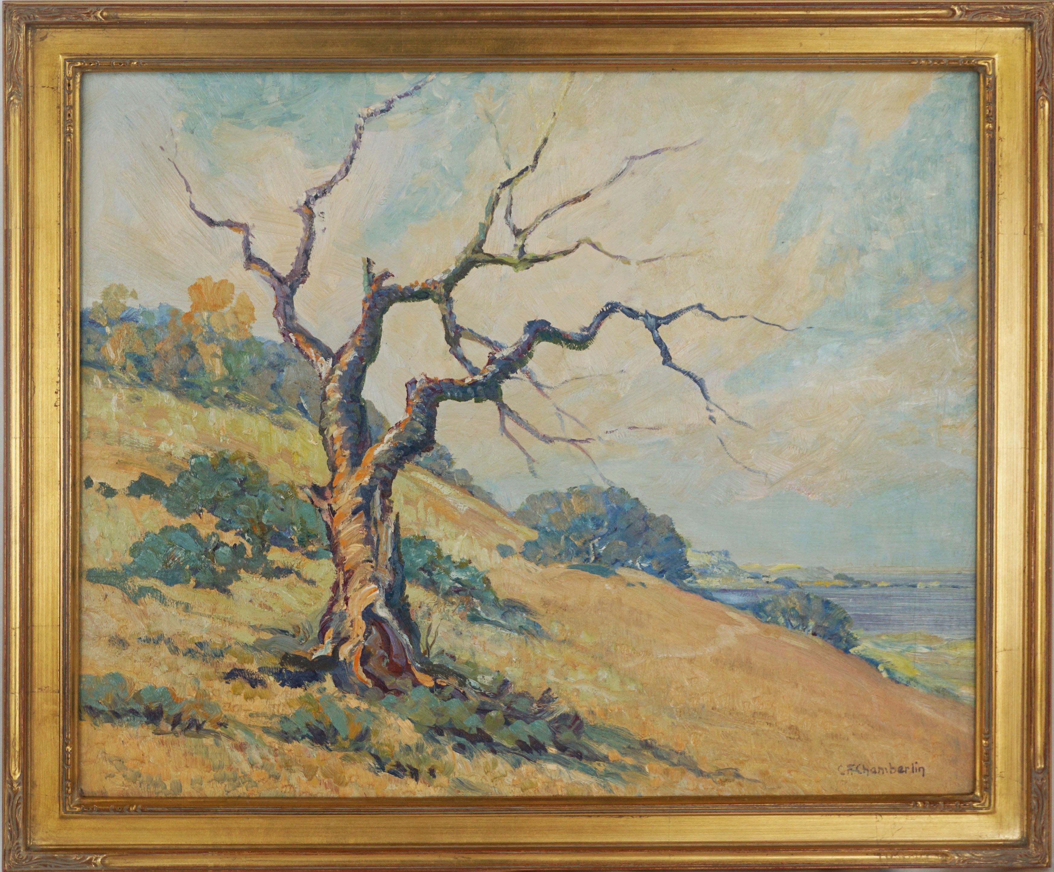 Mid Century California Coast Landscape -- The Last Stand