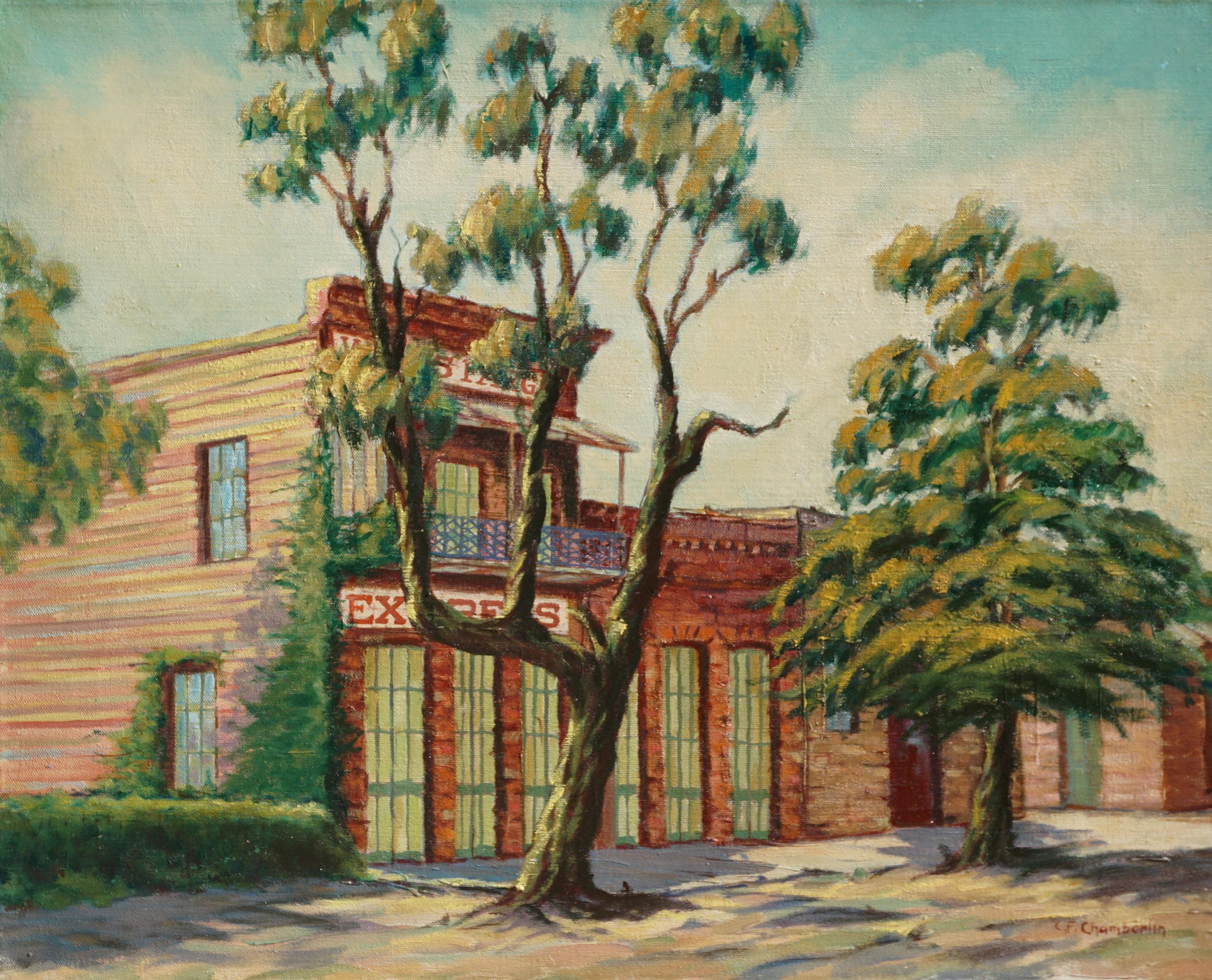 Wells Fargo Express, Gold Country - Columbia, California Mid Century Landscape