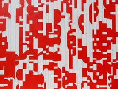 Large Painting on Canvas Titled: PDP 1159