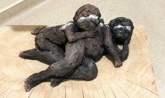 Two babies - Ceramic Sculpture