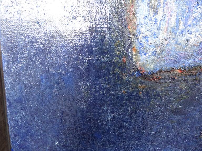 Cécile Roncier, Painting Blue Marge, 2017 For Sale 5