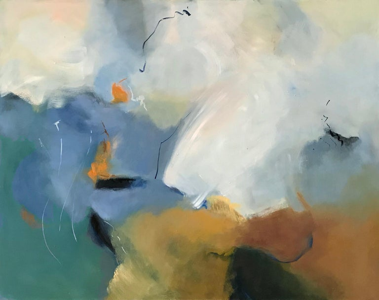 Cecilia Arrospide Abstract Painting - LIBERTAD