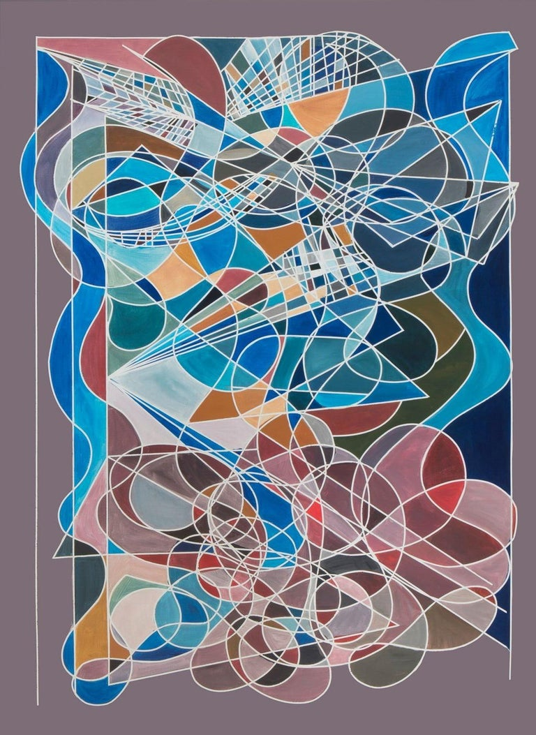 Cecilia Biagini Abstract Painting - Futurism