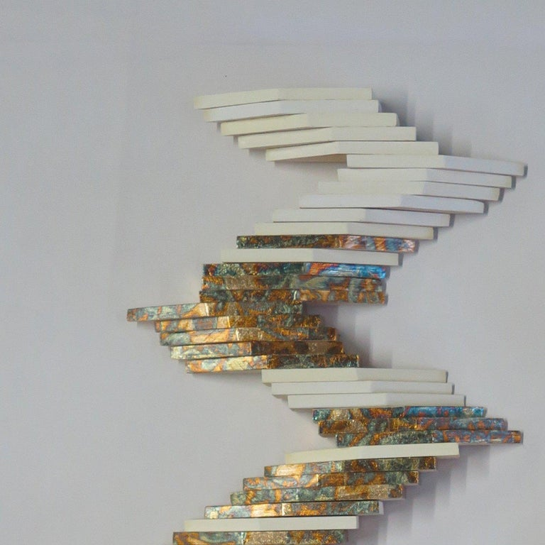 Bifurcated Structure - Sculpture by Cecilia Biagini