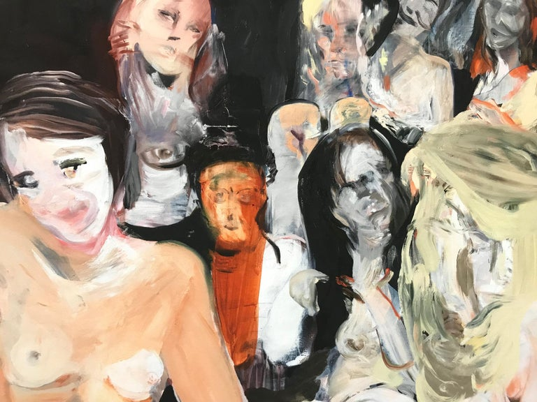 All the Nightmares Came Today, Contemporary Painter, Abstract Art, 21st Century - Print by Cecily Brown
