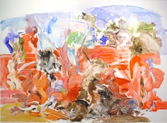 Cecily Brown, Untitled Monotype, 2004
