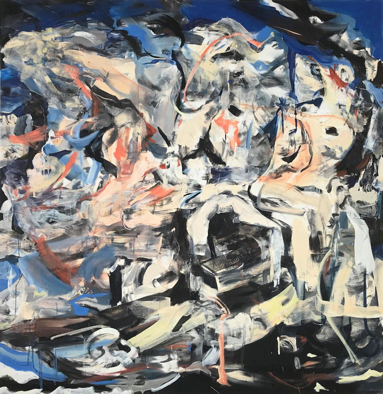 Cecily Brown Abstract Painting - The Last Shipwreck, Contemporary Painter, Abstract Art, 21st Century