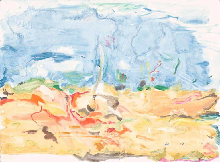 Untitled - Cecily Brown, Contemporary Art, Monotype, Unique works on paper. - Print by Cecily Brown