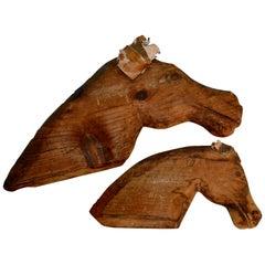Cedar Horse Sculptures, John B. Wikoff