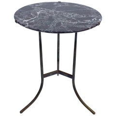 Cedric Hartman Bronze and Marble Side Table