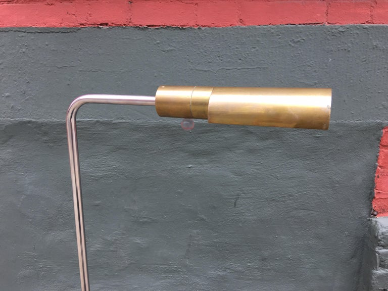 Brass Cedric Hartman Floor Lamp For Sale