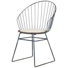 Cees Braakman & Adriaan Dekker for Pastoe Wire Frame Vanity Chair
