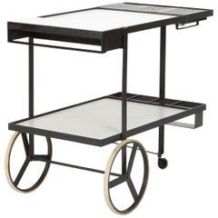 Cees Braakman Bar Cart Pastoe, 1950s