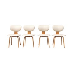 Cees Braakman Combex Series Dining Chairs for Pastoe, Model SB02