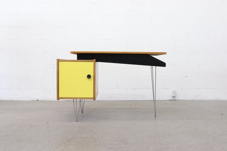 Cees Braakman Desk For Pastoe With Hairpin Legs For Sale