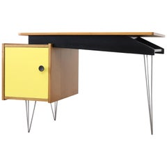 Cees Braakman Desk for Pastoe with Hairpin Legs