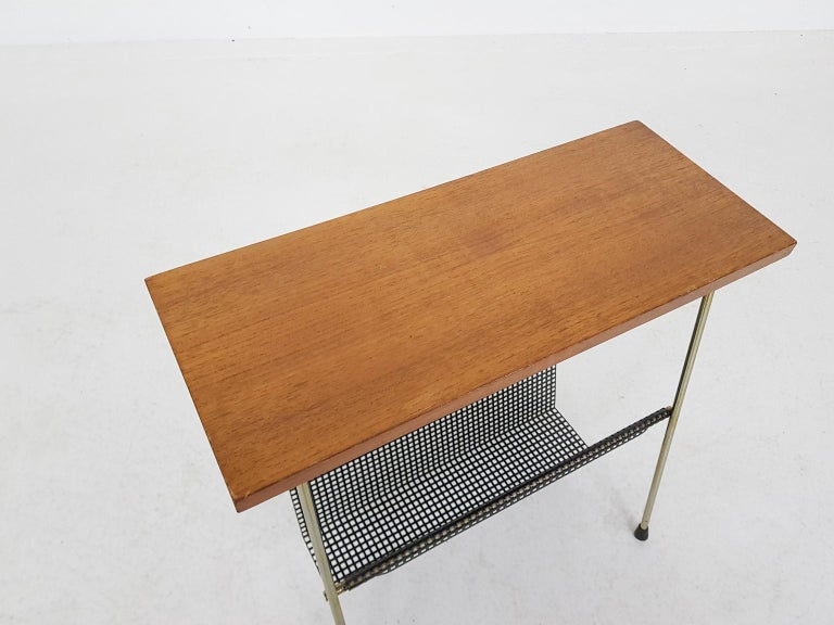 European Cees Braakman for Pastoe Attributed Side Table or Magazine Rack, Dutch Modern For Sale