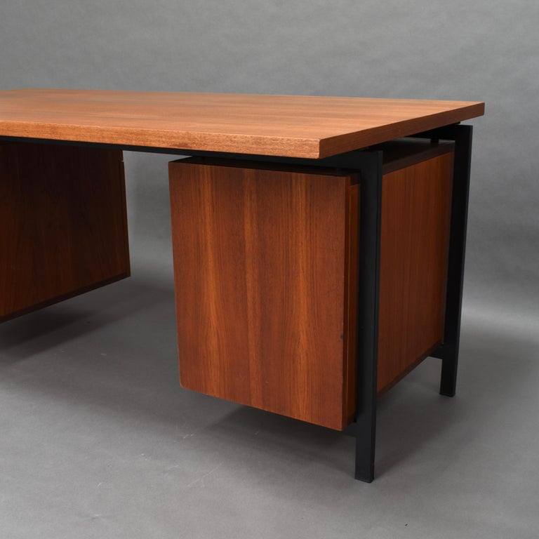 Cees Braakman for Pastoe Model EU02 Japanese Series Desk and Chair in Teak, 1950 For Sale 1