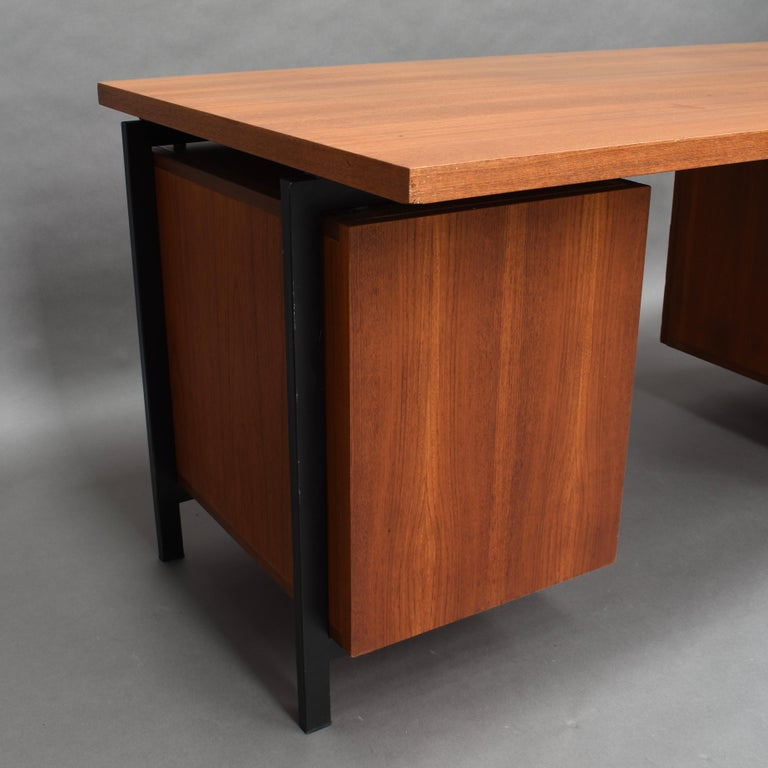 Cees Braakman for Pastoe Model EU02 Japanese Series Desk and Chair in Teak, 1950 For Sale 2