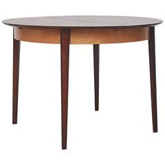 Cees Braakman for Pastoe Round Teak Dining Table